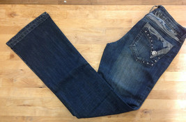 Wrangler Women's Rock 47 Ultra Low Rise Jeans, WHX62DI, Size 3X36 - $39.59