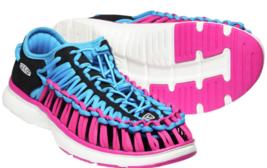 Keen Uneek O2 Größe 7 M (B) Eu 37,5 Damen Sport Sandalen Schuhe Dressden Blau