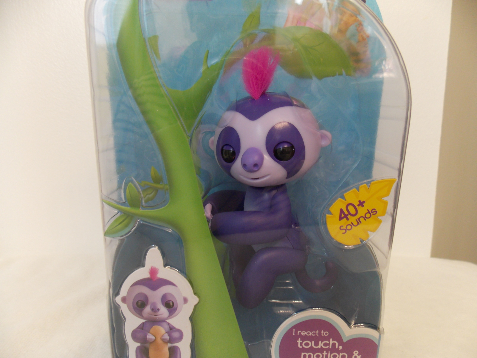 Fingerlings Marge Interactive Baby Sloth