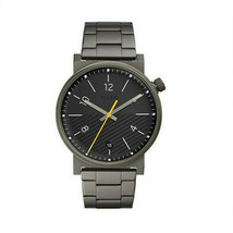 Fossil Brand Mens Barstow Quartz Watch Gunmetal Gray Stainless Steel FS5508 NEW