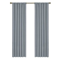 Kendall Blackout Window Curtain Panel in Slate - 42'' x 63 '' - $11.74