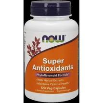 NOW Foods Super Antioxidants - 120 Veg Capsules - $22.85