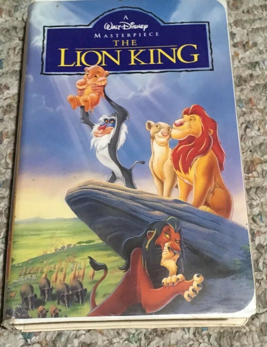 Primary image for The Lion King (VHS, 1995)