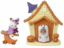 Sylvanian Families pounding Halloween House set cell -196 - $69.33