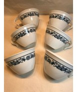 Set 6 Corning Corelle Old Town Blue Onion Coffee Cups Hook Handle Stacki... - $12.83