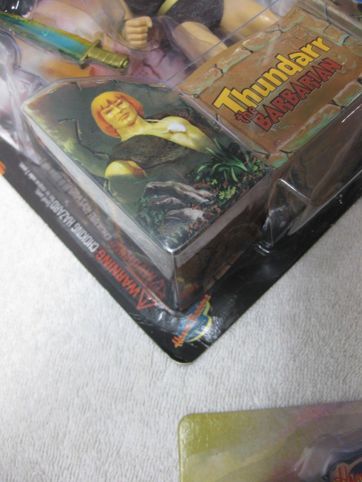 Thundarr The Barbarian, Ookla, Ariel Complete Set Figure - Toynami 2003 FS