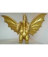 "HUGE GOLD KING GHIDORAH 1964 TOHO 18"" GODZILLA SERIES 3 HEADED MONSTER F... - $1,215.99"