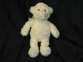 "10"" Baby Gund White Cream Ivory COOKIE Small Stuffed  Plush Teddy Bear 5... - $17.22"