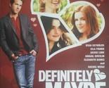 Definitely Maybe DVD 2008 Rachel Weisz Ryan Reynolds Isla Fisher