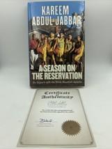 Un Temporada On The Reservation Firmado Kareem Abdul Jabbar Estreno Coll... - £37.29 GBP