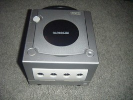 PLATINUM SILVER Nintendo Gamecube REPLACEMENT Console System Only Tested... - $32.68