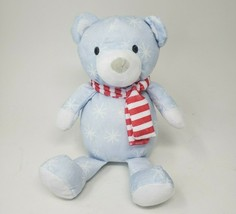 "12"" MANHATTAN TOY PATTERN CHILLY BLUE TEDDY BEAR STUFFED ANIMAL PLUSH TO... - $32.73"