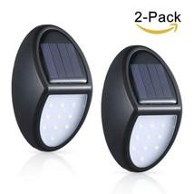 Lampe Solaire Exterieur, MOSUO 2 pack 10 LED lampe Applique Led, eclaira... - $27.46