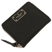 NWT KATE SPADE NEW YORK Wright Place Darci Leather Medium Wallet Black 3... - $67.32