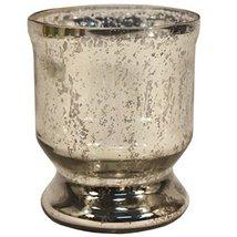 Indian Handmade GLASS candle holder votive stand tea-light decor christm... - $23.52