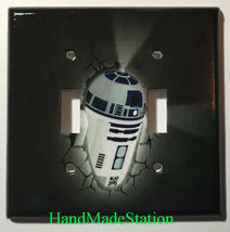 Star Wars R2D2 R2-D2 Light Switch Power Outlet Wall Cover Plate Home Decor image 5