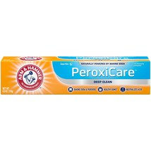 Arm and Hammer PeroxiCare Deep Clean Toothpaste, 6 oz, Pack of 6 - $27.99