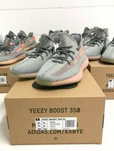 Adidas Yeezy Boost 350 V2  Grey TRFM EG7492 Sizes 3 4.5 5 5.5 6 static 3m 700 image 4