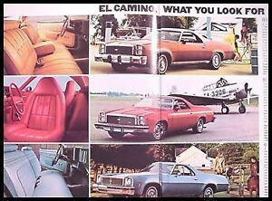 1977 Chevy Chevrolet Blazer Truck Original Brochure GM