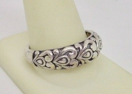 Designer Angela by John Hardy Sterling Silver 925 Scrollwork Band Ring - $159.00