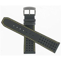 Citizen 59-S52633 Original Replacement Black Leather Watch Band Strap fits CA046 - $84.50