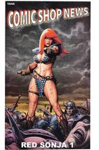 Comic Shop News Issue 1644 CSN Red Sonja J. Michael Linsner Cover Art - $4.50