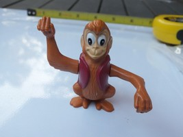 Vintage Disney's Aladdin King of Thieves Abu the Monkey Toy Figurine Bur... - $10.88