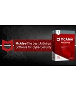 MCAFEE ANTIVIRUS PLUS 2020 - 1 Year  3 PC- DOWNLOAD Version Email Delivery - $7.19