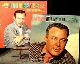 The best of Jim Reeves  and Jim Reeves- He'll Have To Go AA20-2118 Vintage image 3