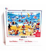 """CEACO Paws & Claws 300 Pc Jigsaw Puzzle  24""""x18"""" Cats Dogs 011516-21081-A - $19.34"""