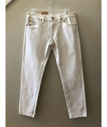 NWT $80 Denim & Supply Ralph Lauren Off White Crop Skinny Jeans Size 28 - $39.57