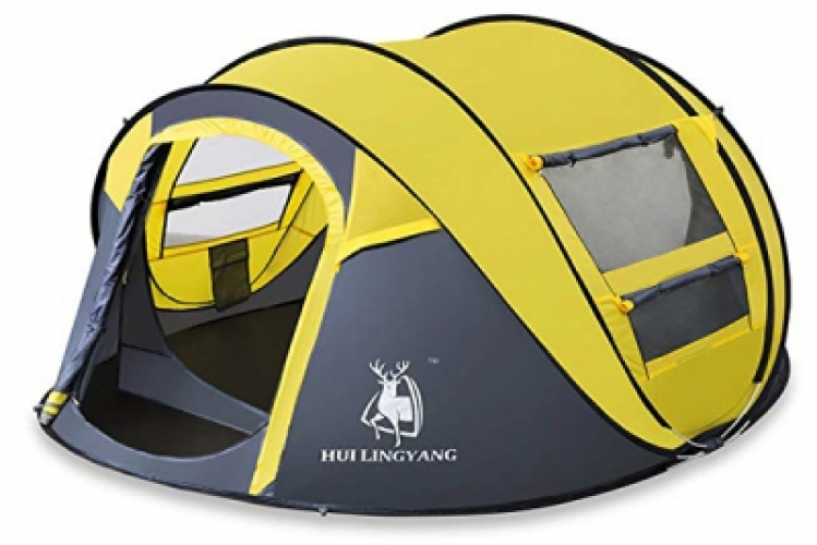 Automatic tent 3   4 people camping outdoor supplies
