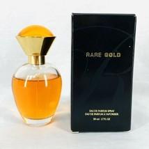 Avon Rare Gold Eau Parfum Perfume Spray 1.7oz 50ml Vintage NOS New NIB - $19.00