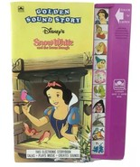 Talking Disney Book Touch N Listen Golden SOUND Story New Batteries - $15.83
