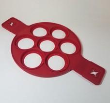 Pancakes Maker Mold Nonstick Silicone Pancake Ring,Fried Egg,Egg Cake Ring - $13.21 CAD
