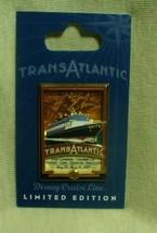 Disney Cruise Line Transatlantic Cruise May 2007 Logo LE Pin - $23.95