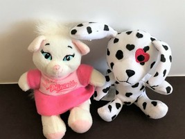 Build A Bear McDonald's Set of 2 Mini Shaggy Sweetheart Pup & Princess K... - $6.35