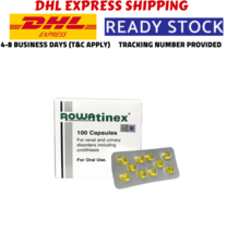 2 Boxes (100's) ROWATINEX CAPSFor Renal & Urinary Tract and Stones DHL E... - $78.10