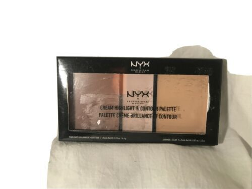 Primary image for NYX Cream Highlight & Contour Palette CHCP01 Light