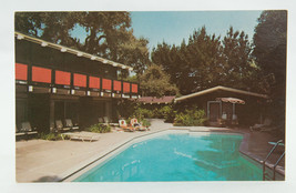 Postcard Red Cottage Motel Menio Park California CA Unposted  - $4.94