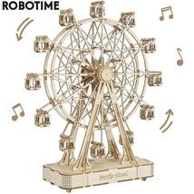 232pcs Rotatable DIY 3D Ferris Wheel Wooden Model Building Block Kits As... - $124.98