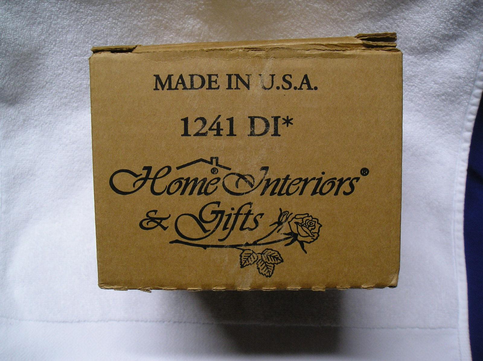 20 Homco Home Interiors 12201 Small Diamond and 20 similar items