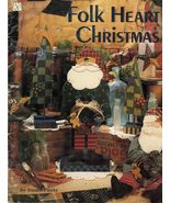 Tole Decorative Painting Folk Heart Christmas Susan Fouts Snowmen Santa ... - $13.99