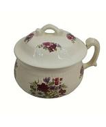 Vintage Chamber Pot Cronin's Fredericksburg USA  Art Pottery Victorian L... - $79.20
