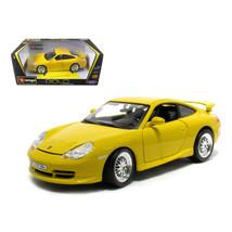 Porsche 911 GT3 Strasse Yellow 1/18 Diecast Model Car by Bburago 12040y - $48.74