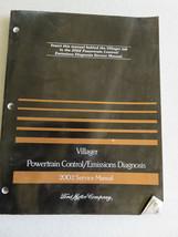 2002 Mercury Villager Powertrain Emissions Service Manual OEM Factory Wo... - $2.88