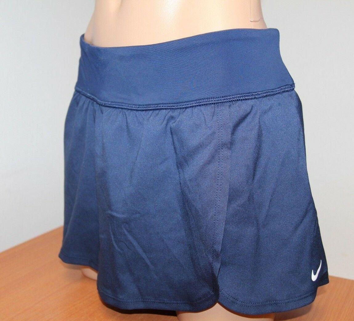 New Nike Swimsuit Bikini Skirted Bottom Skirt Midnight Navy Size L