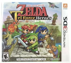 The Legend of Zelda [ Tri Force Heroes ] (3DS) Rated E - New Sealed - $18.31