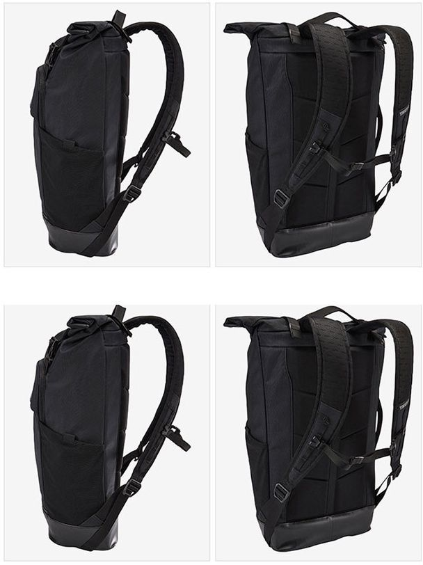 "THULE Paramount 24L Roll Top Backpack TRDP-115 [BLACK] for 15"" Laptop Daypack"