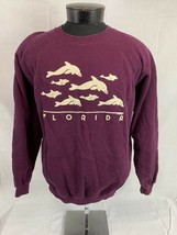 Vintage Florida Sweatshirt Crewneck Hanes 80s 90s USA Tourist Destination - $39.99